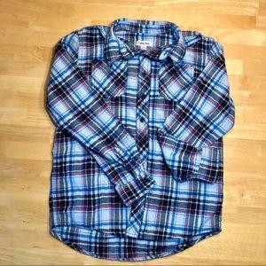 Cherokee Boy's Flannel Shirt Sz 12-14